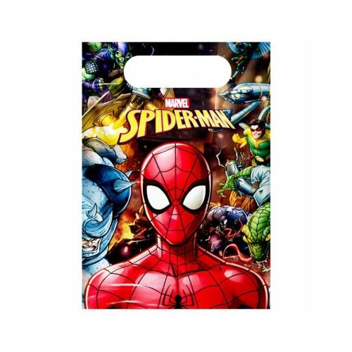 Spiderman | Partytüten 23 x 17 cm - 6 Stück