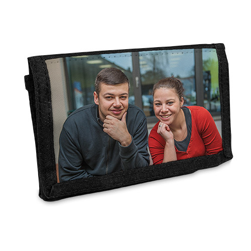 Portemonnaie mit Klett | Fotodruck