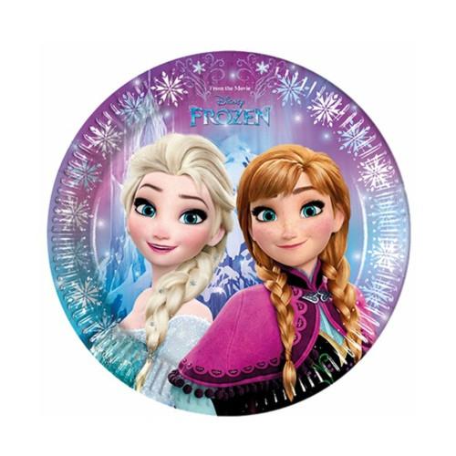 Frozen | Pappteller 23 cm - 8 Stück