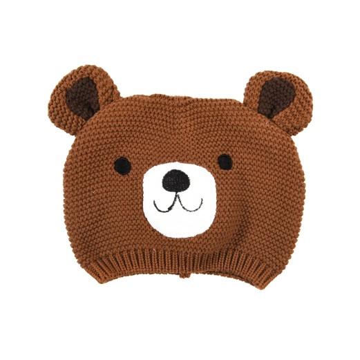 Babymütze aus 100% Baumwolle | Bär