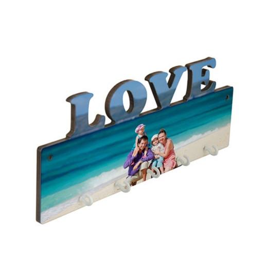 Schlüsselbrett LOVE | Fotodruck