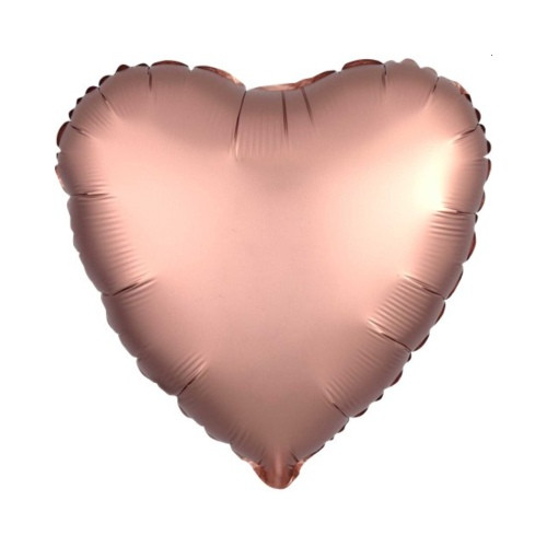 Herz rosa | Heliumballon 46 cm - befüllt