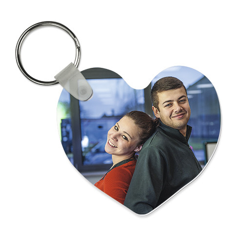 Schlüsselanhänger Herz | Fotodruck