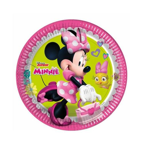 Minnie Mouse | Pappteller 23 cm - 8 Stück