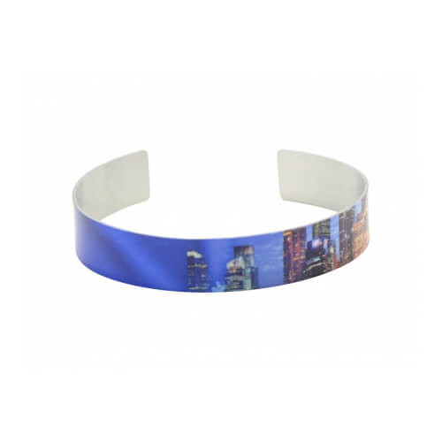 Aluminium Armband 1.3 x 17 cm | Fotodruck