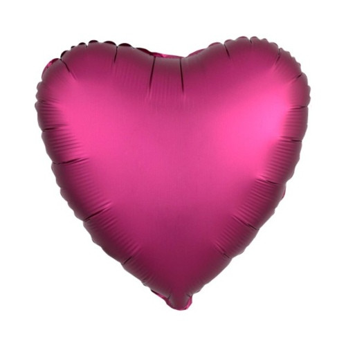 Herz pink | Heliumballon 46 cm - befüllt