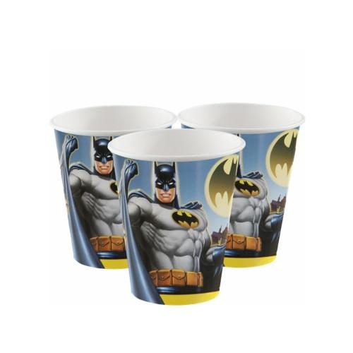 Batman | Pappbecher 255 ml. - 8 Stück
