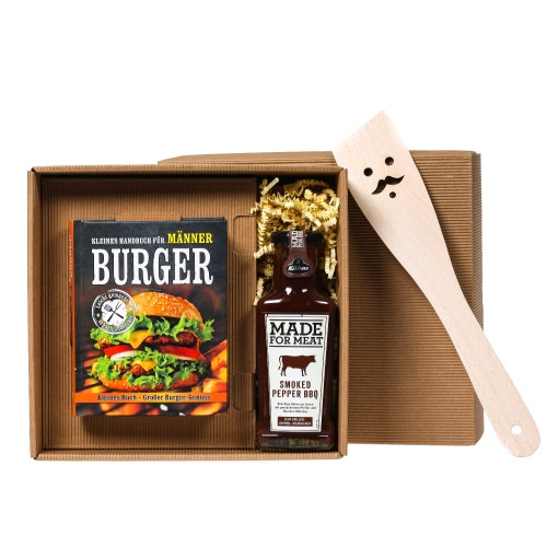 Geschenkset 3-teilig | Burger Handbuch