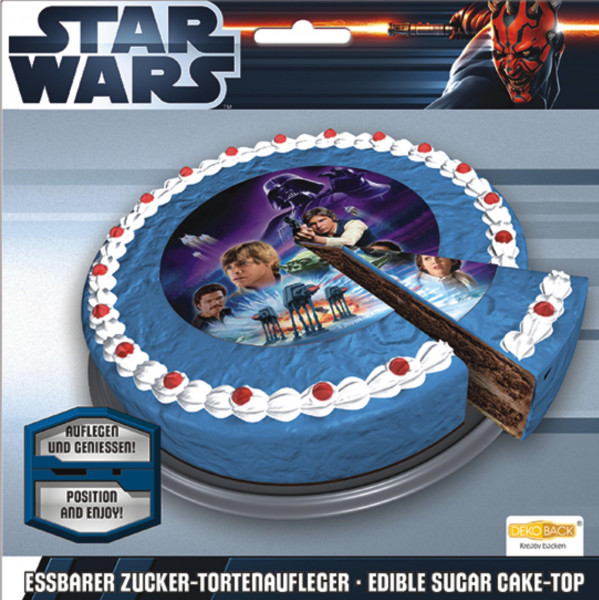 Star Wars Tortenaufleger essbar 16cm