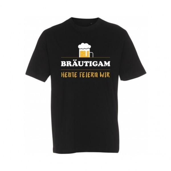 T-Shirt Bräutigam Bier